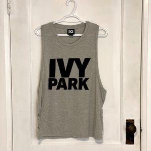 Grey IVY PARK Workout Tank Top